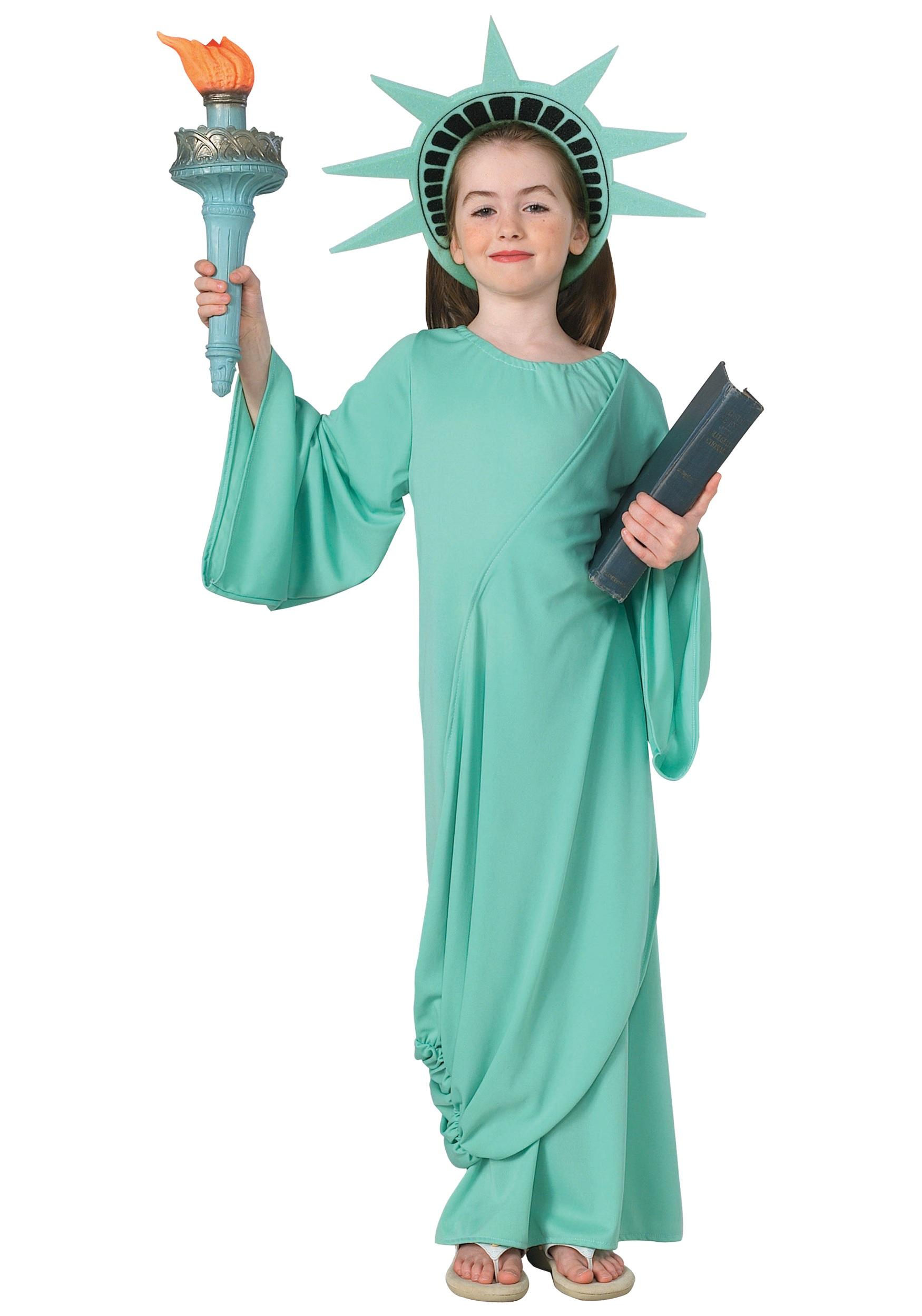 LIL MISS LIBERTY TIARA STATUE OF LIBERTY HEADPIECE CHILD COSTUME ACCESSORY