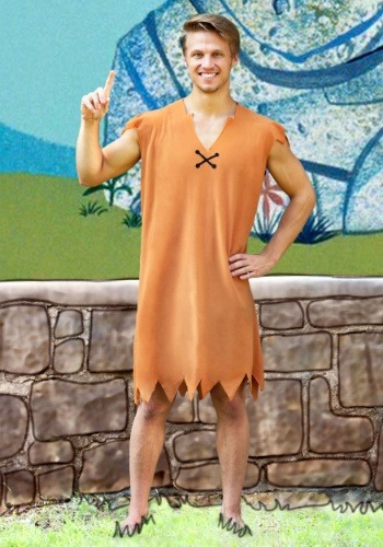 Barney Rubble Adult Costume