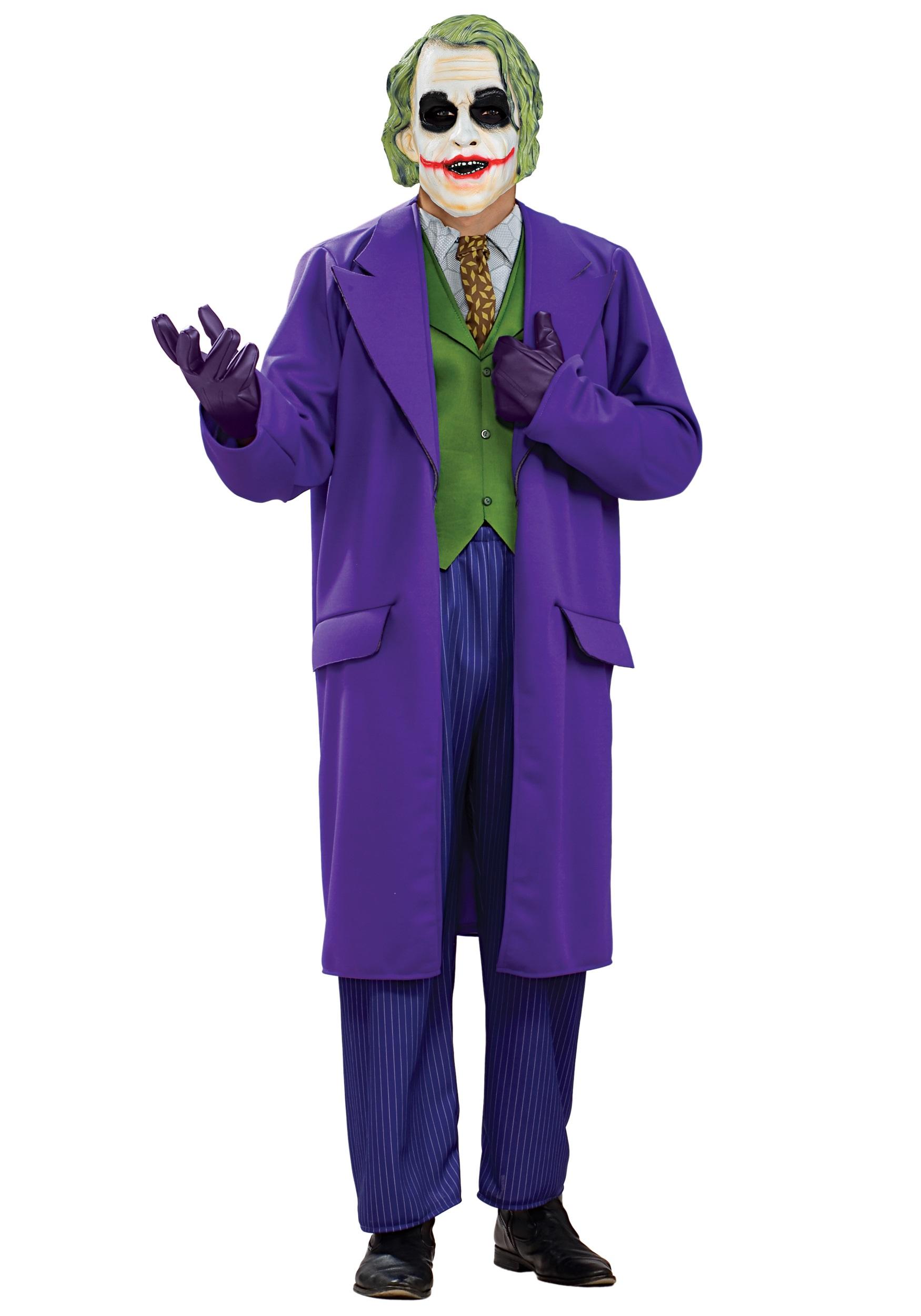 Plus Size Deluxe Joker Costume  sc 1 st  Halloween Costumes UK & Batman Costumes - Adult Child Batman Halloween Costumes