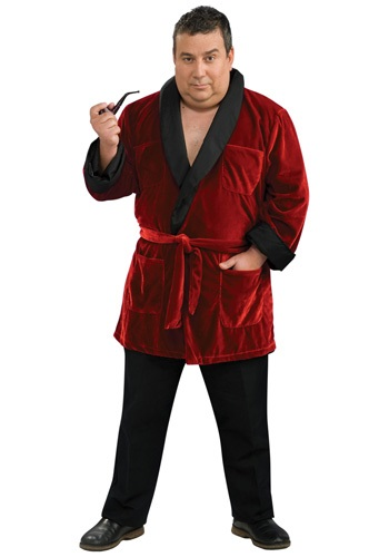 Plus Size Hugh Hefner Costume