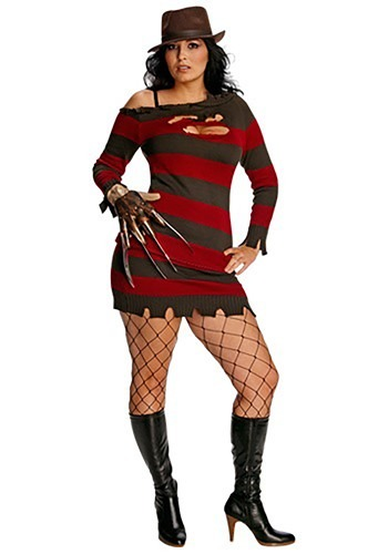 Plus Size Miss Krueger Costume