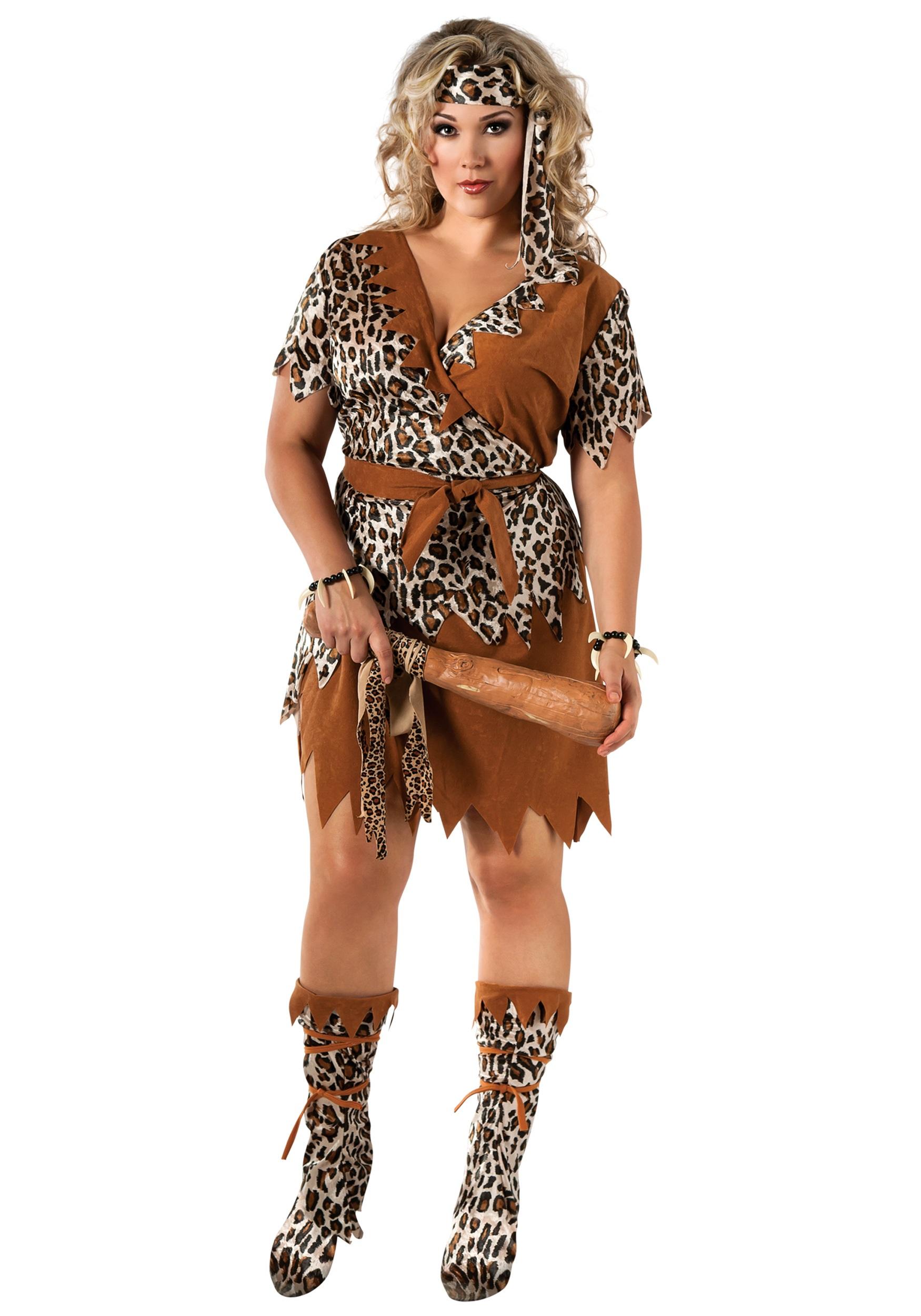 Caveman Dress Up Ideas : Cavewoman plus size costume