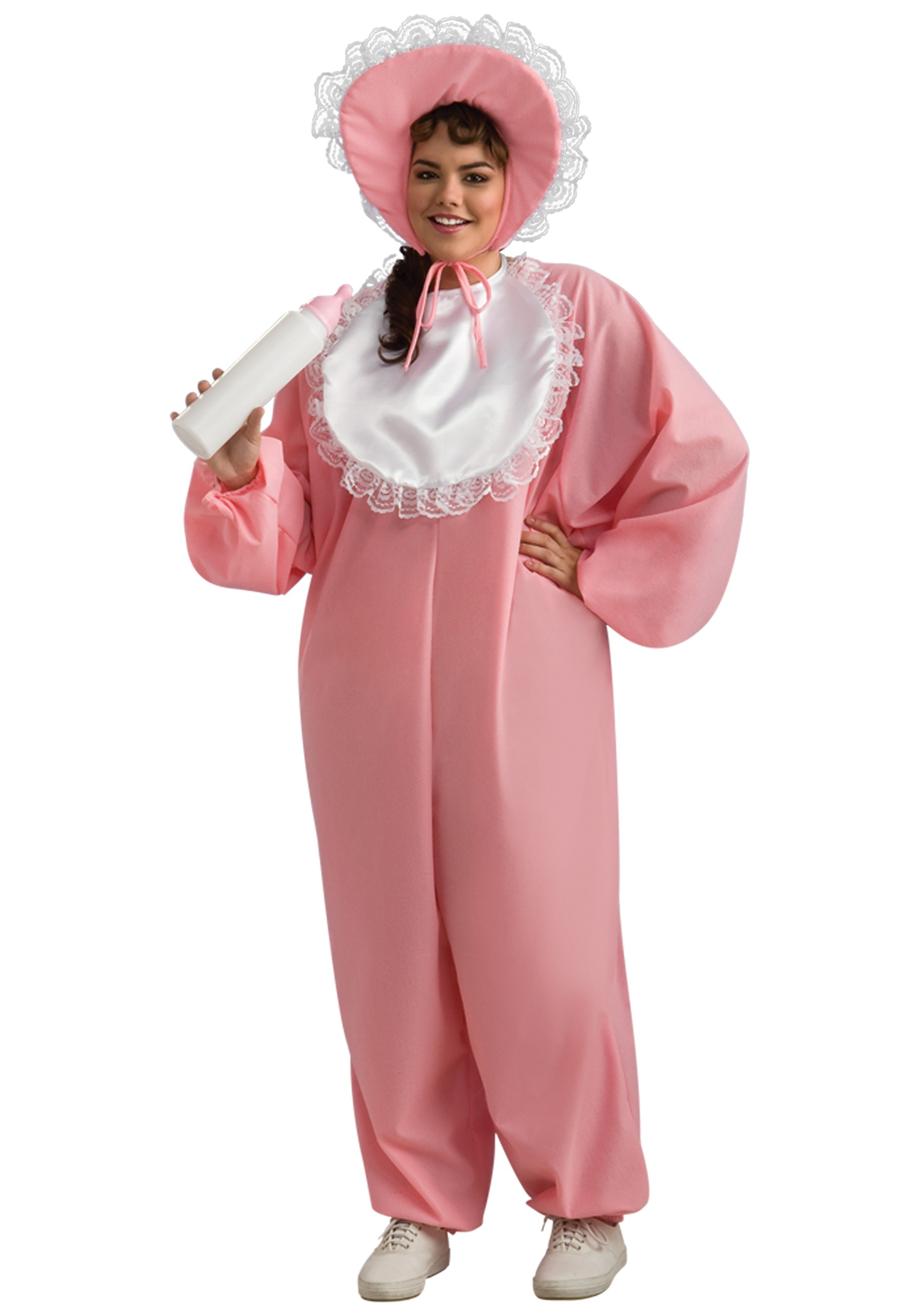 Adult Baby Girl Plus Size Costume-2876