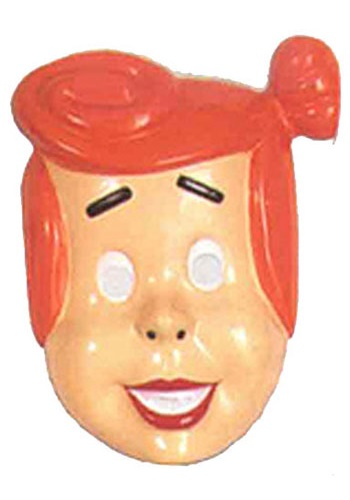 Wilma Flintstone Adult PVC Mask