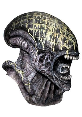 Deluxe Latex Alien Mask