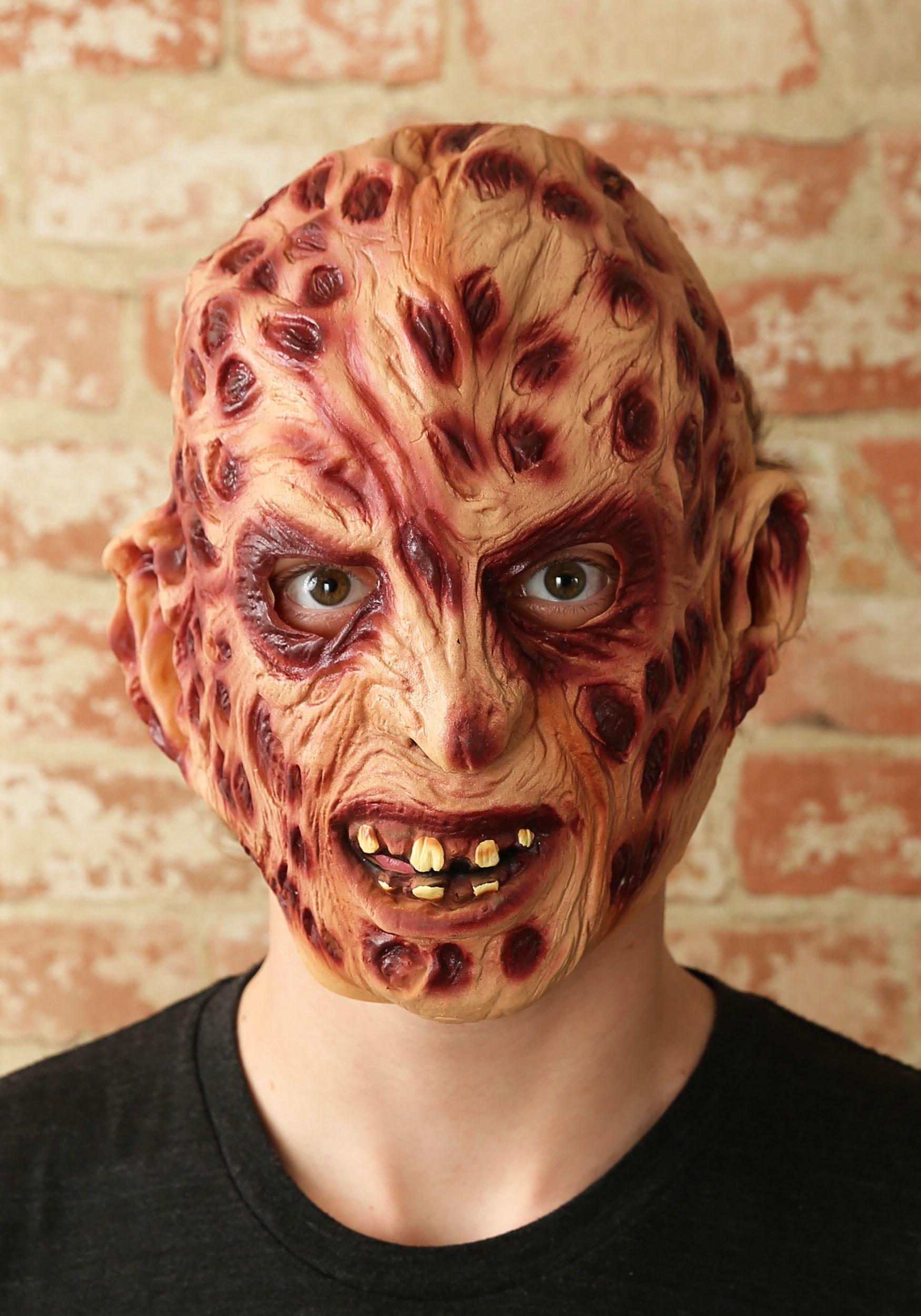 Freddy Krueger Vinyl Mask  sc 1 st  Halloween Costumes UK & Freddy Krueger Costumes