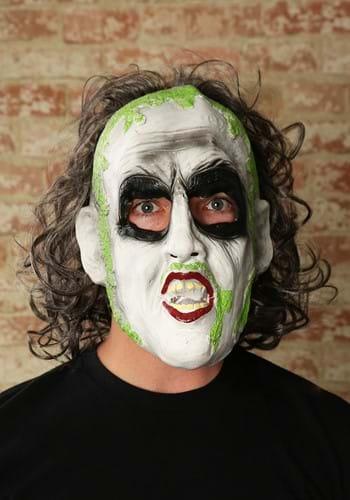 Beetlejuice 3/4 Vinyl Mask w/Hair