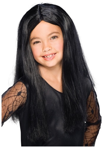 Child Black Witch Wig