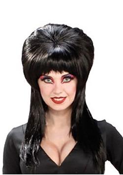 Elvira Costume Wig