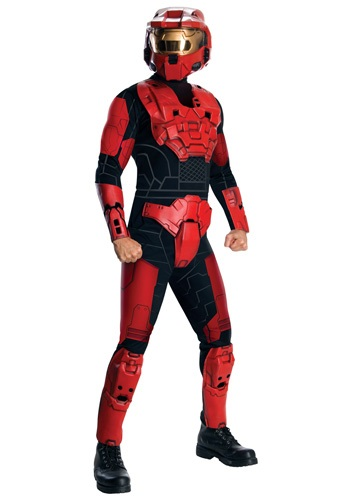 Deluxe Halo Red Spartan Costume