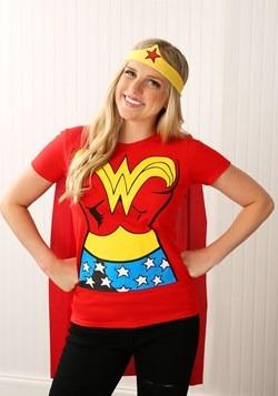 Wonder Woman T-Shirt Costume