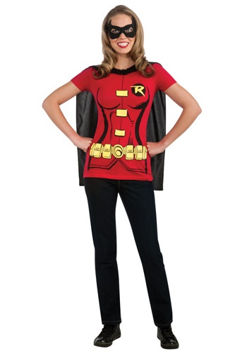 Womens Robin T-Shirt Costume