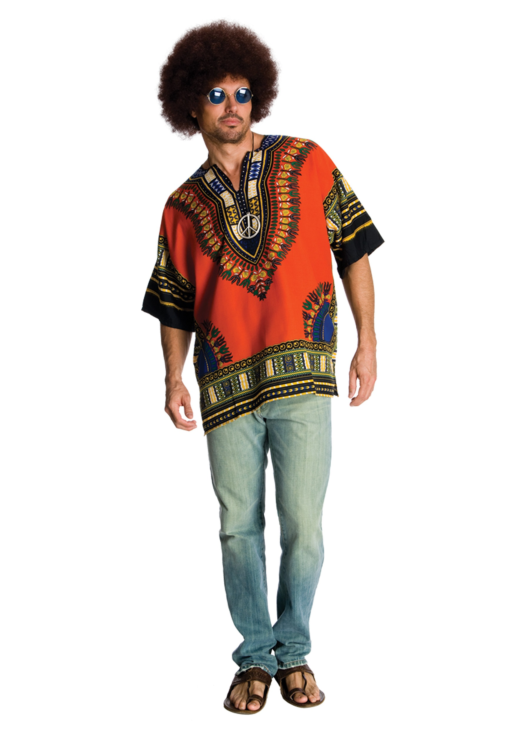 Hippie Dude Costume  sc 1 st  Halloween Costumes UK & 70u0027s Costumes - Mens and Womens 70s Costumes