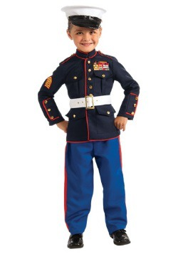 Child Marine Uniform Costume