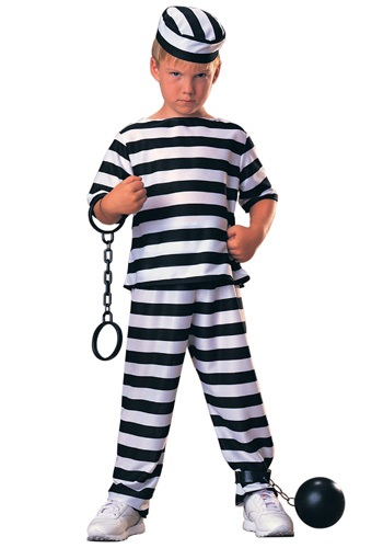 Kids Prisoner Costume