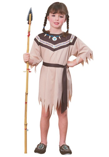 Indian Girl Native American Costume