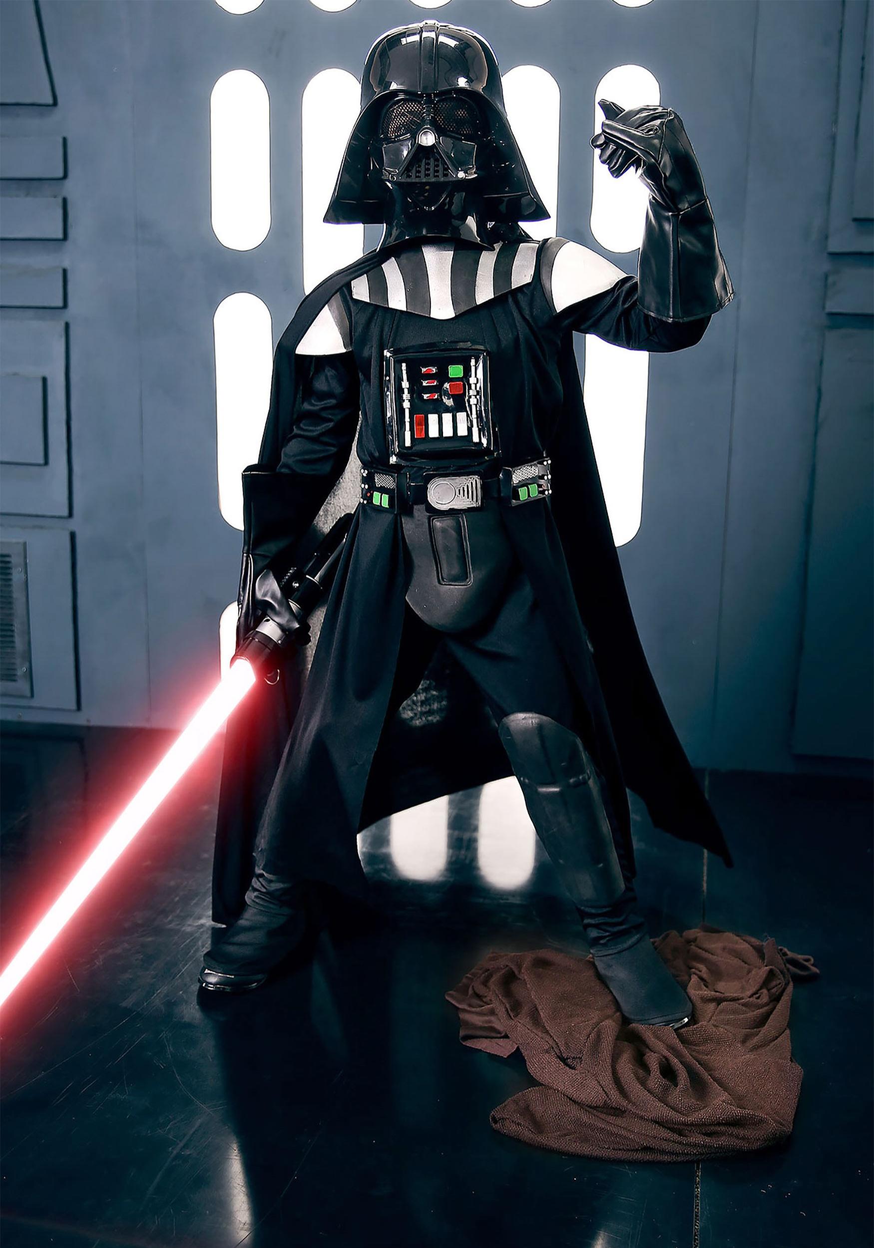 Child Deluxe Darth Vader Costume & Kids Star Wars Costumes - Child Toddler Halloween Costume