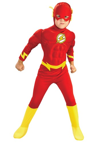 Deluxe Kids Flash Costume