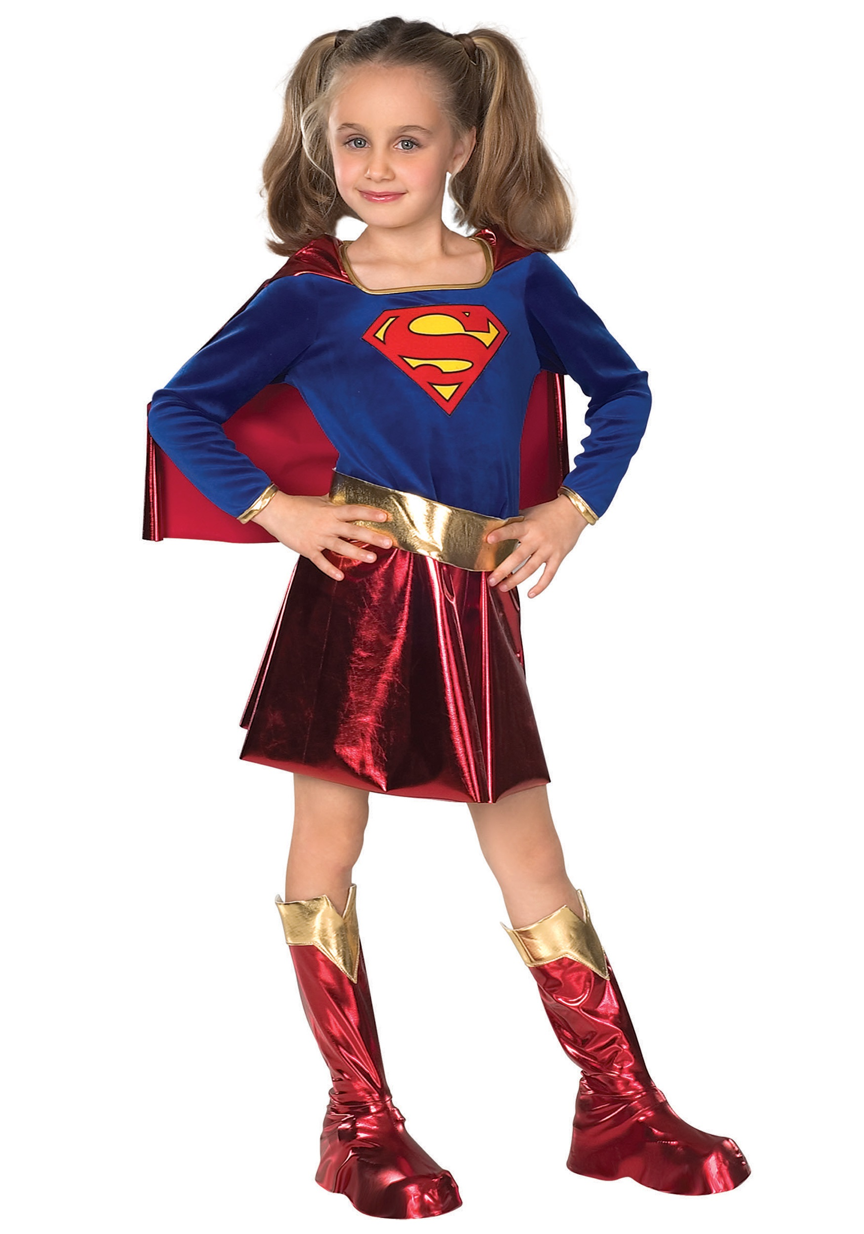 Kids Supergirl Costume  sc 1 st  Halloween Costumes UK & Girls Superhero Costumes - Child Teen Girls Superhero Costumes