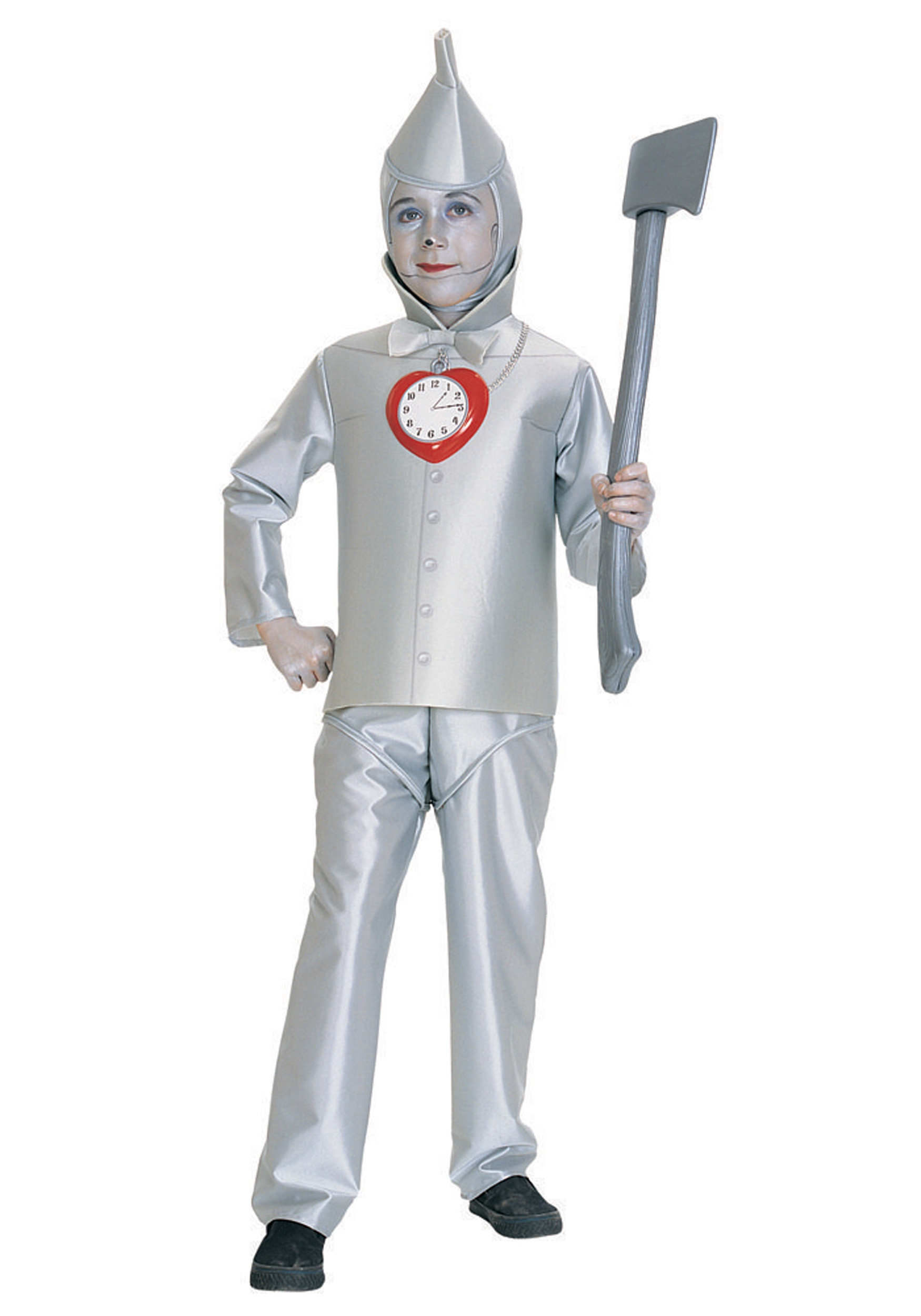 Child Tin Man Costume  sc 1 st  Halloween Costumes UK & Child Tin Man Costume - Kids Deluxe Wizard of Oz Tin Man Costumes