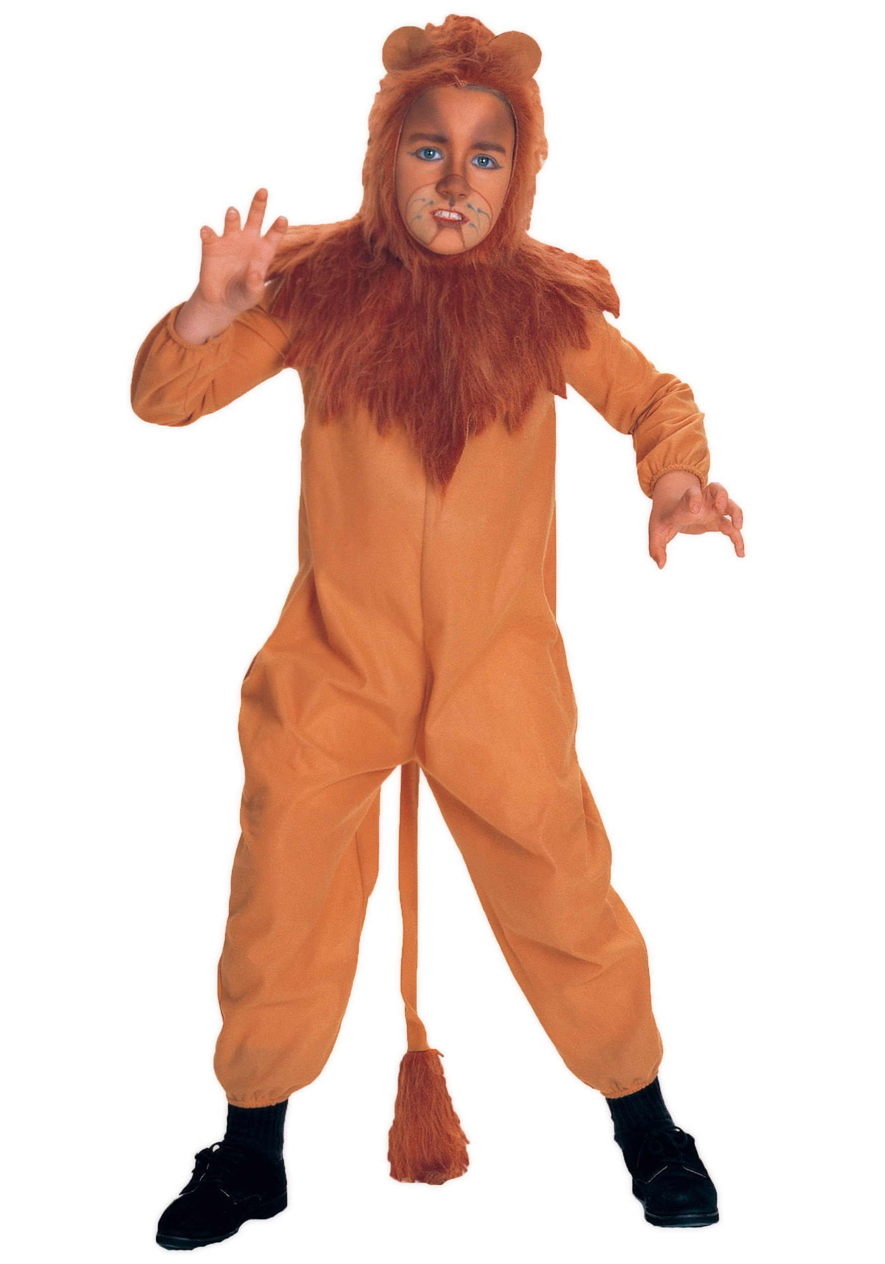 Child Cowardly Lion Costume  sc 1 st  Halloween Costumes UK & Child Cowardly Lion Costume - Kids Cowardly Lion Halloween Costumes