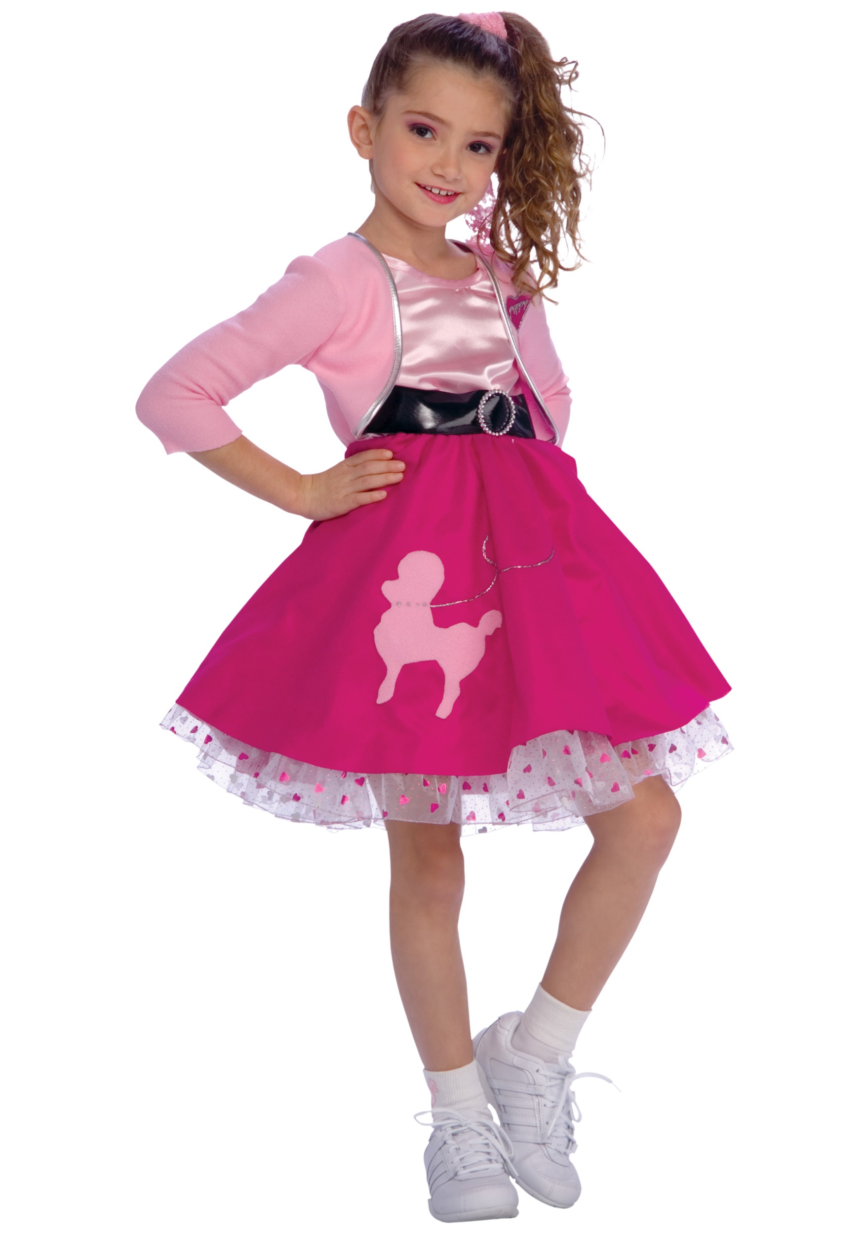 50s Girl Costume  sc 1 st  Halloween Costumes UK & Kids 50u0027s Costume - Kids Grease Costumes