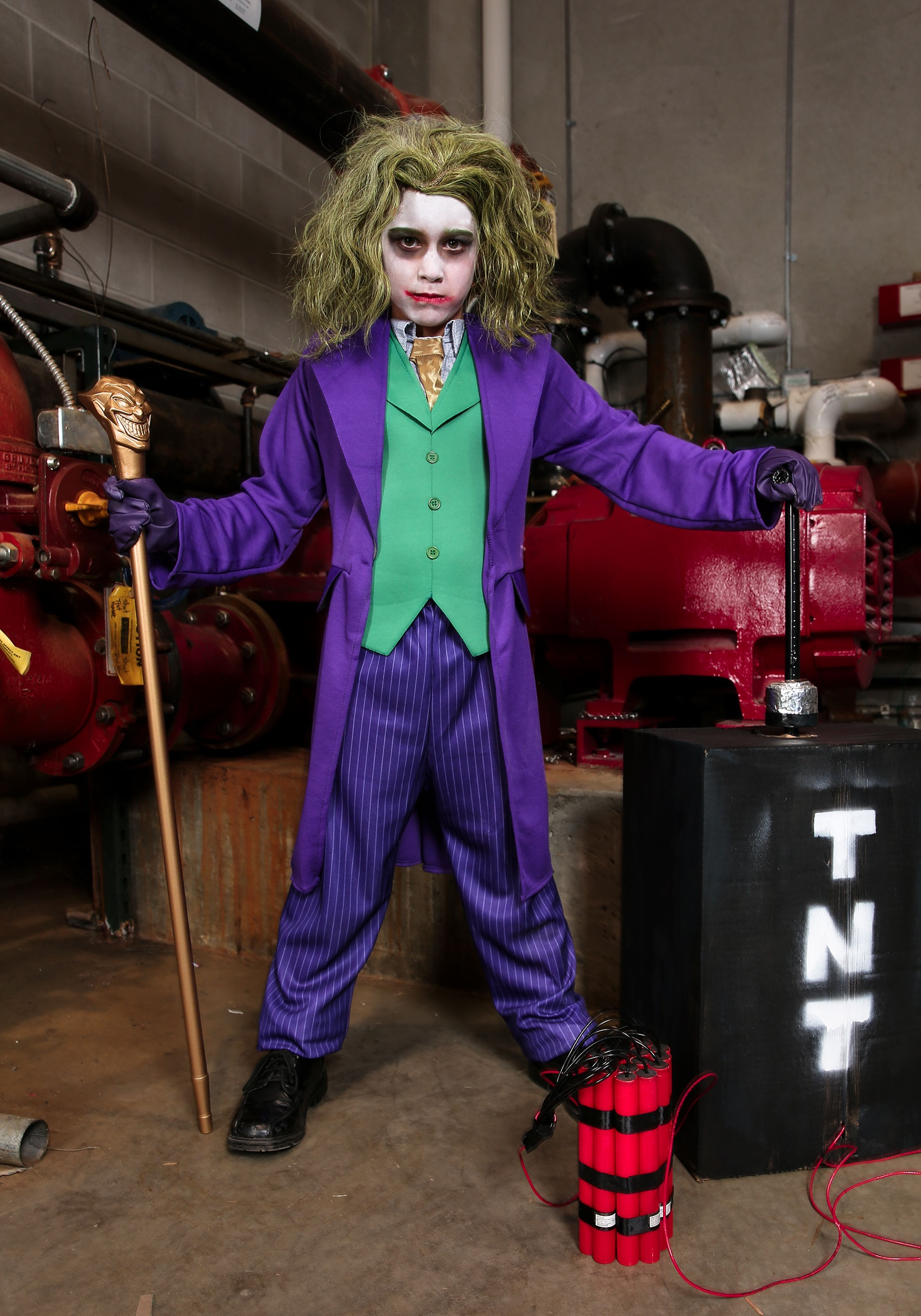 Deluxe Child Joker Costume  sc 1 st  Halloween Costumes & Joker Costumes
