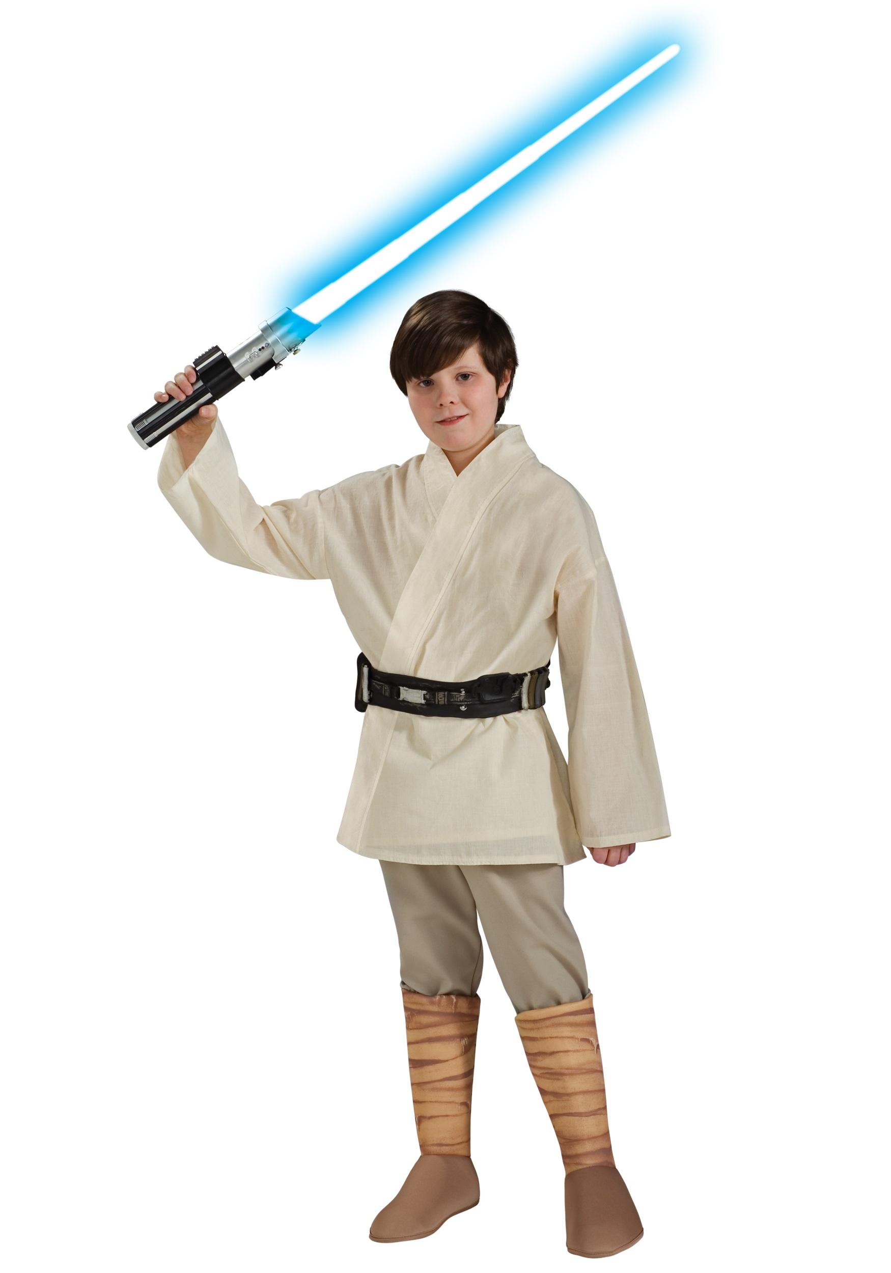 sc 1 st  Halloween Costumes UK & Deluxe Child Luke Skywalker Costume
