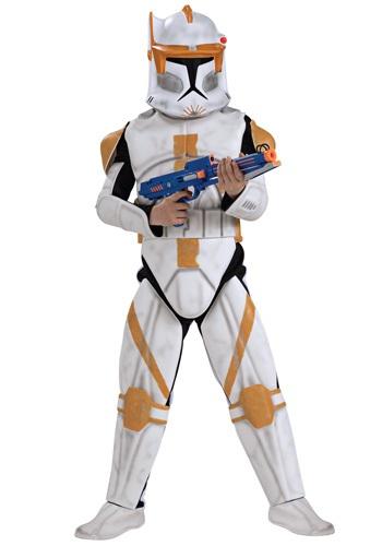 Kids Deluxe Clone Trooper Commander Cody Costume