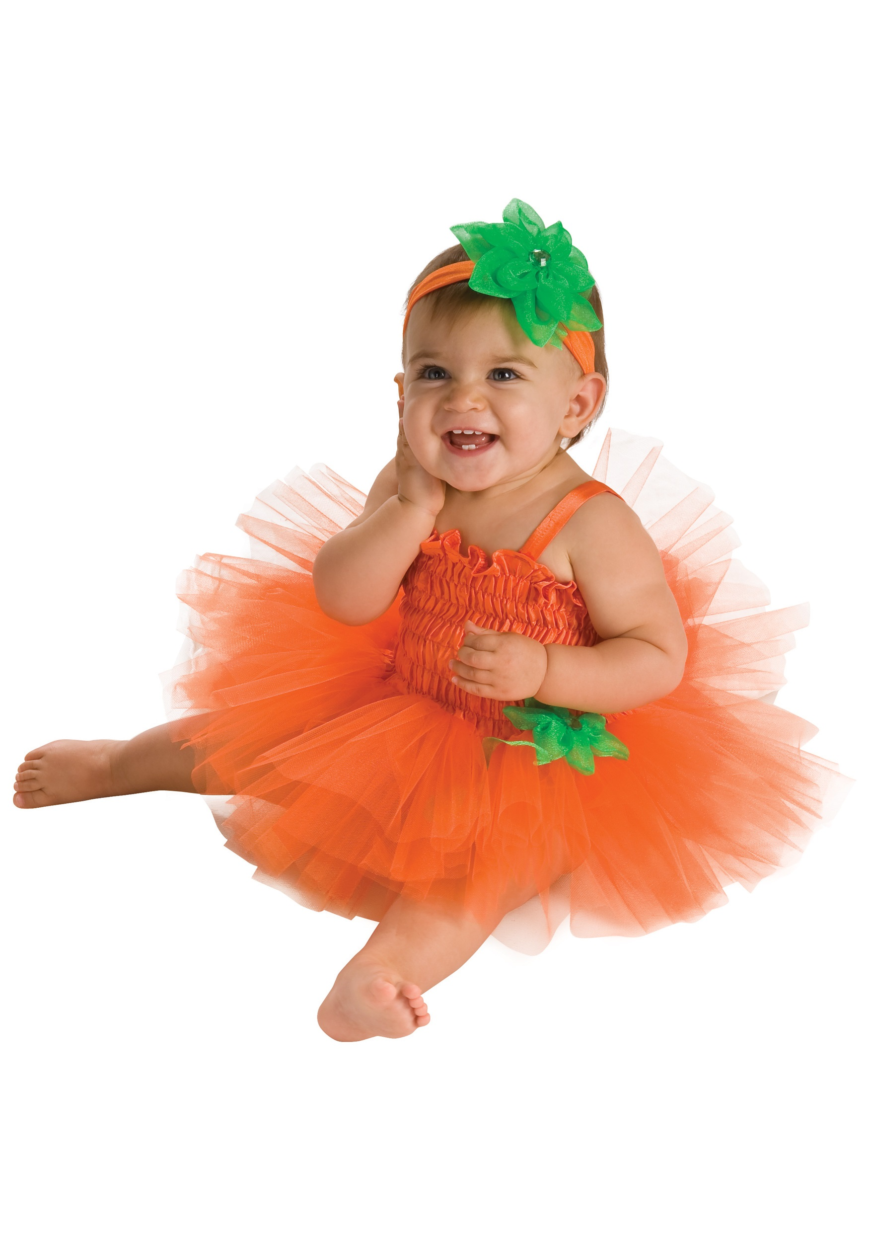 Halloween Costume 6 9 Months Uk.Infant Pumpkin Tutu Costume Dress