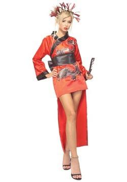 Adult Dragon Lady Geisha Costume