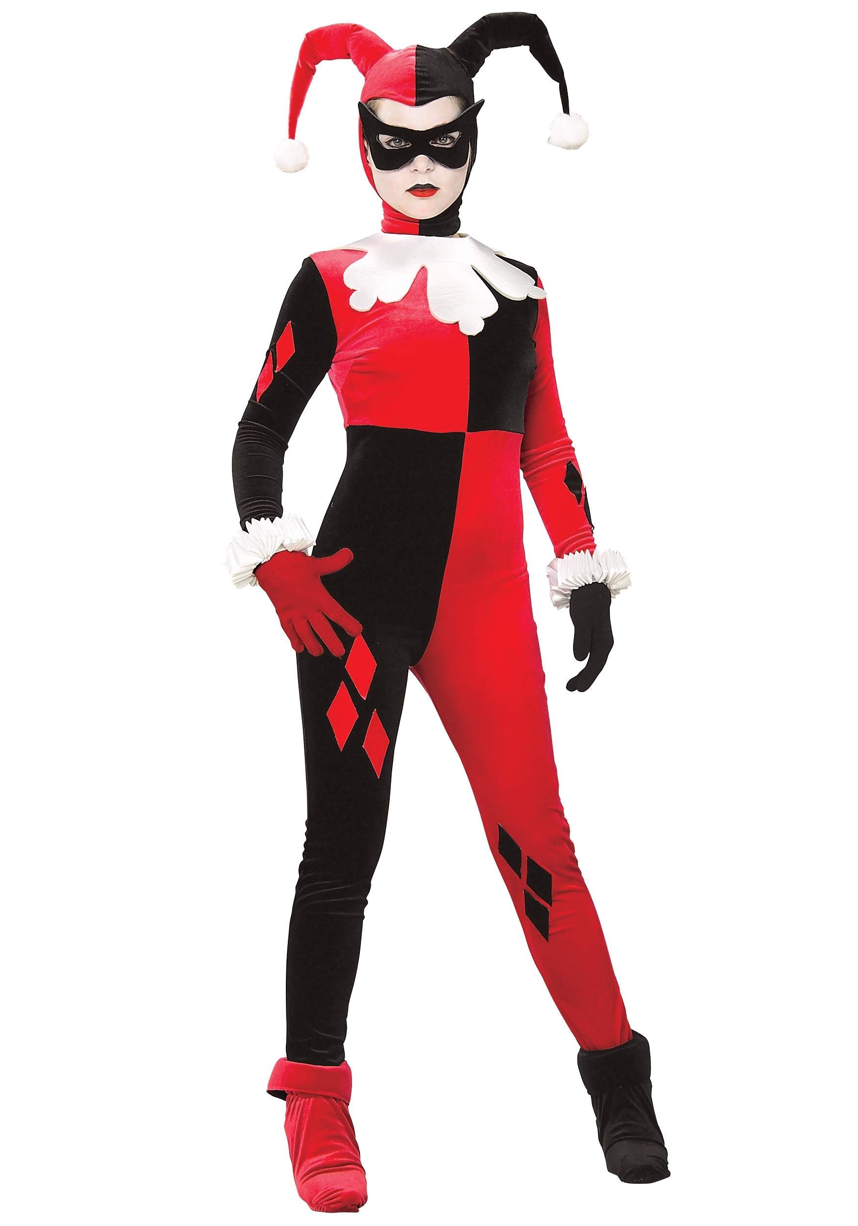 Harley Quinn Mask One Size