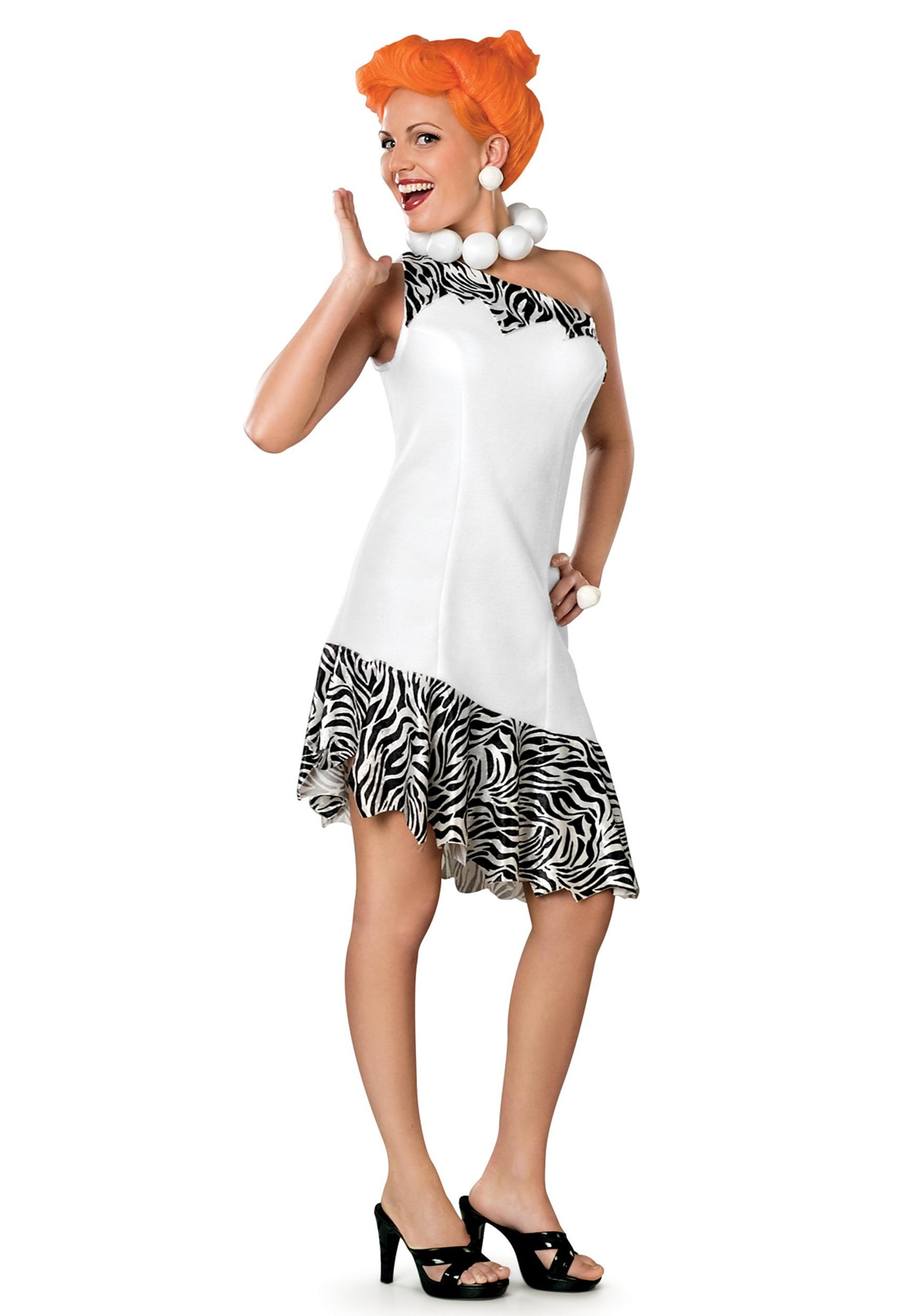 Deluxe Adult Wilma Flintstone Costume