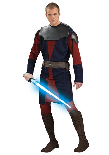 Adult Deluxe Anakin Skywalker Clone Wars Costume