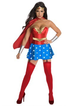 Wonder Woman Corset Costume