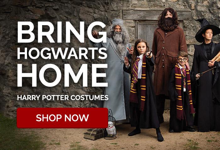 Bring Hogwarts Home. Harry Potter Costumes.