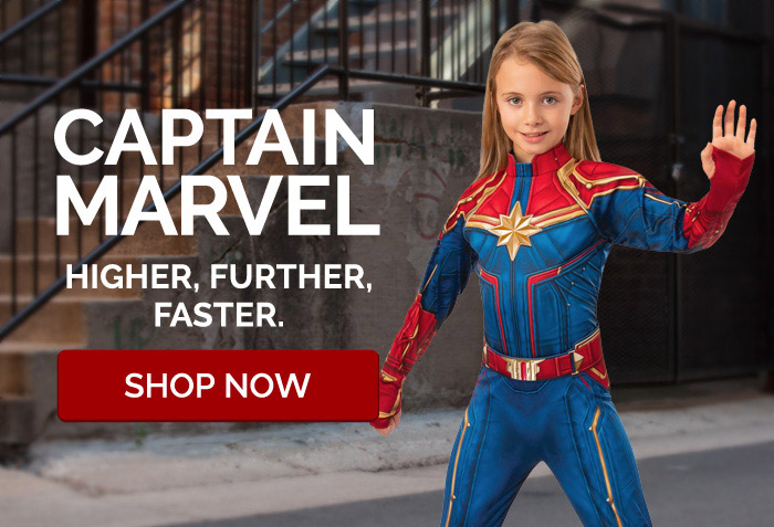 Captain Marvel. Higher, Further, Faster.
