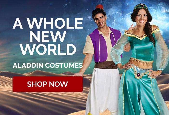 A Whole New World. Aladdin Costumes.